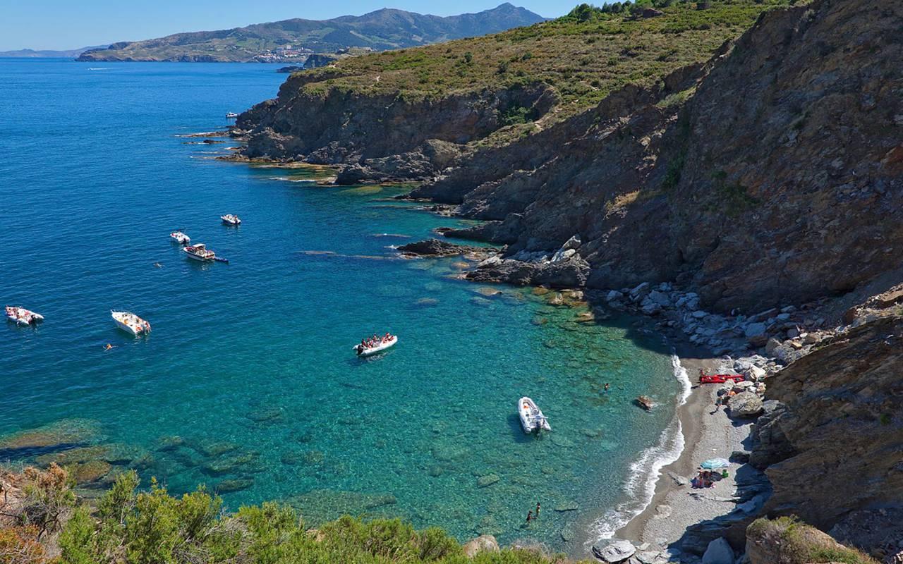 Littoral and sea view - hotel perpignan