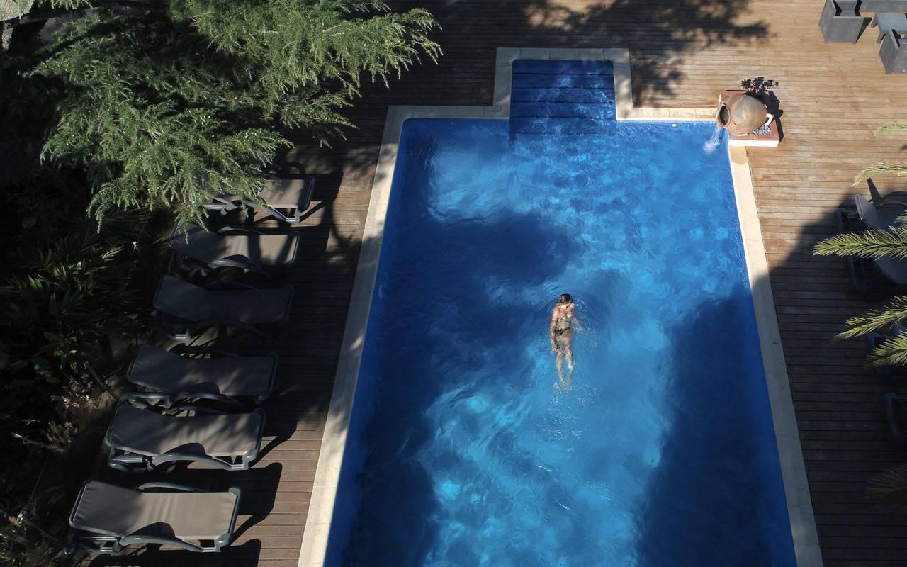Swimming pool - hotel perpignan