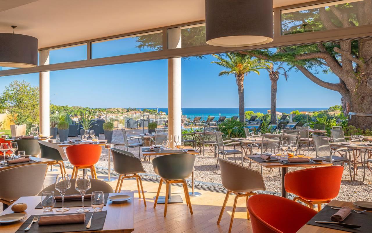 Salle de restaurant - restaurant port vendres
